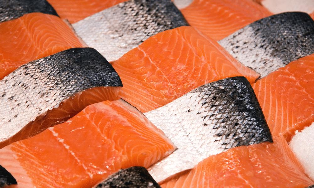 Wild Salmon Over Fish